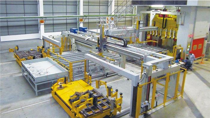 机械手冲压自动化生产线