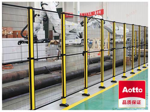 钢制围网及立柱防护