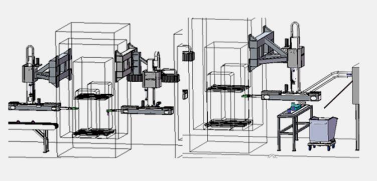 机械手锻造自动化生产线